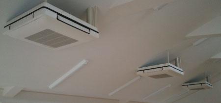 西大和町公民館新築空調工事
