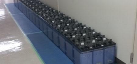 長崎医療センター UPS蓄電池及び部品交換
